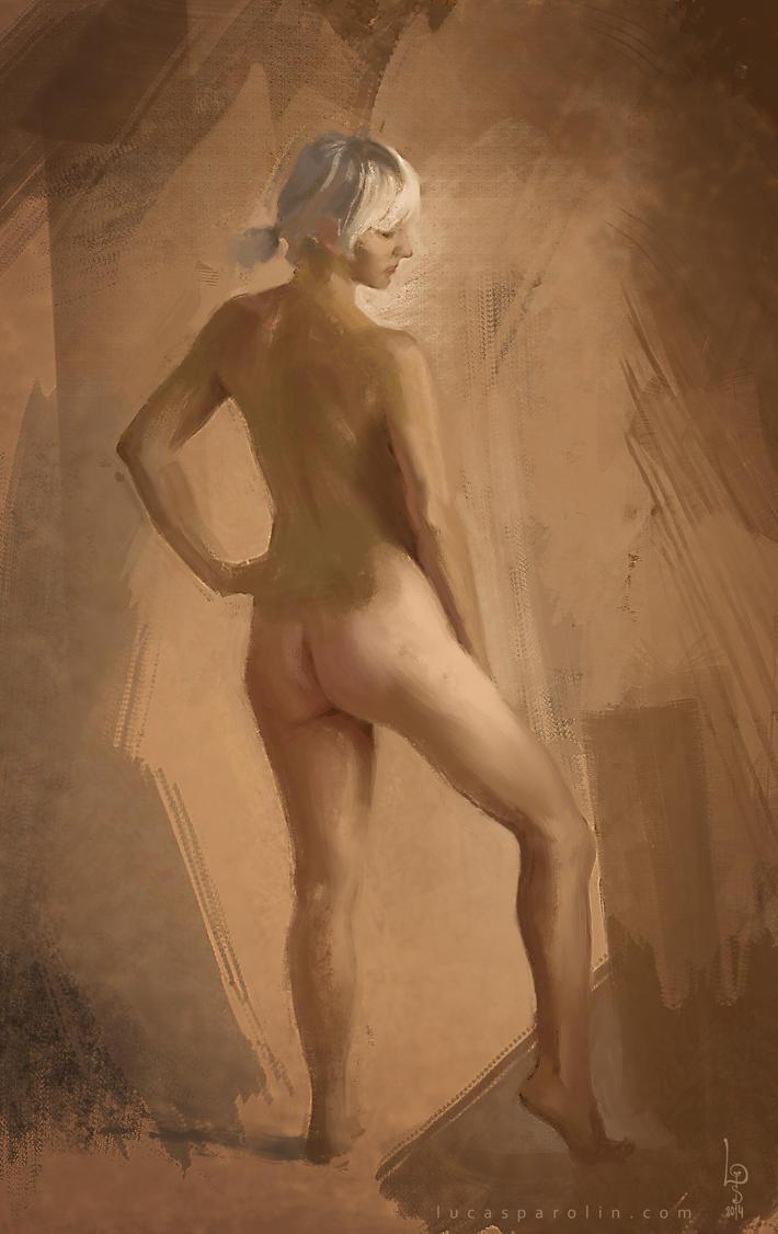 Pose Study by LucasParolin