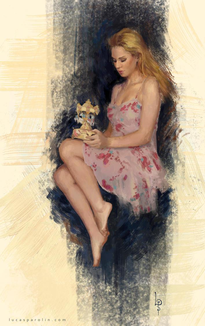 ladySitting by LucasParolin