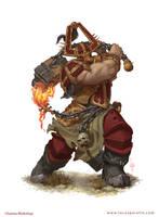 Skullgrinder Warhammer by LucasParolin