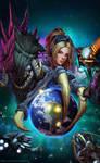StarCraft II Copa America - Poster