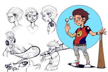 Barry the bat by Emerash
