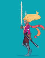 Charlote the slayer by Emerash