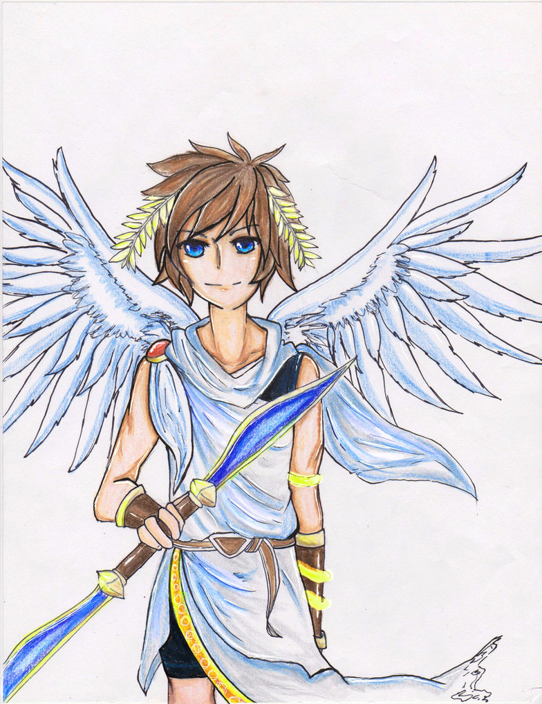 Pit The Kid Icarus By Haylee Lauren