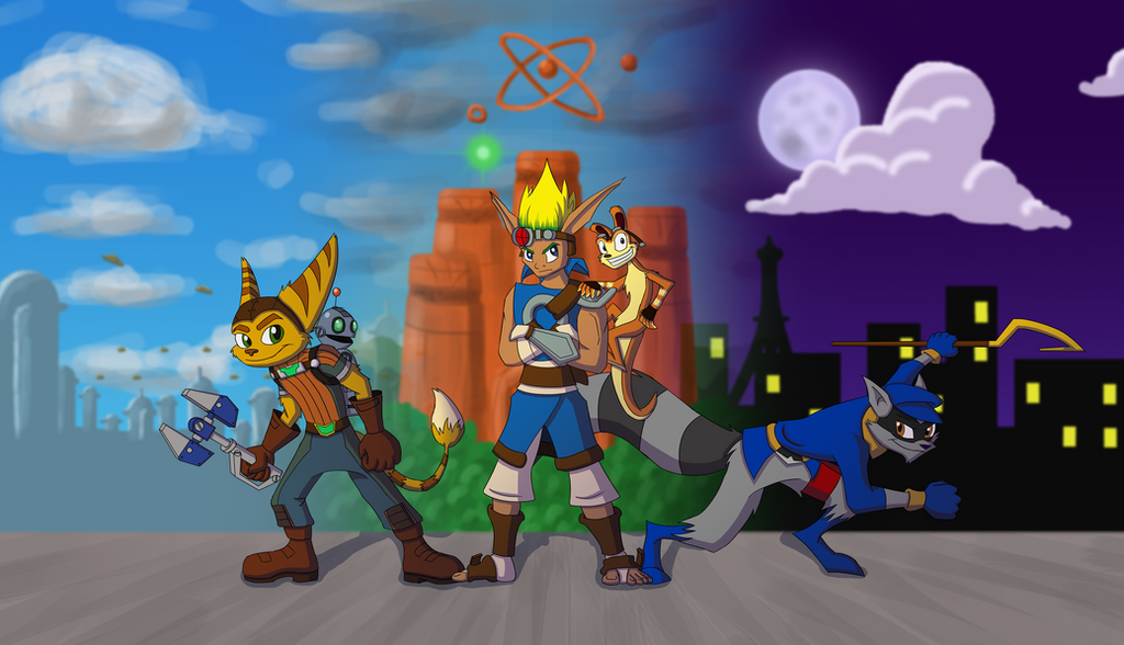 Playstation Heroes By RitoSternbeck On DeviantArt