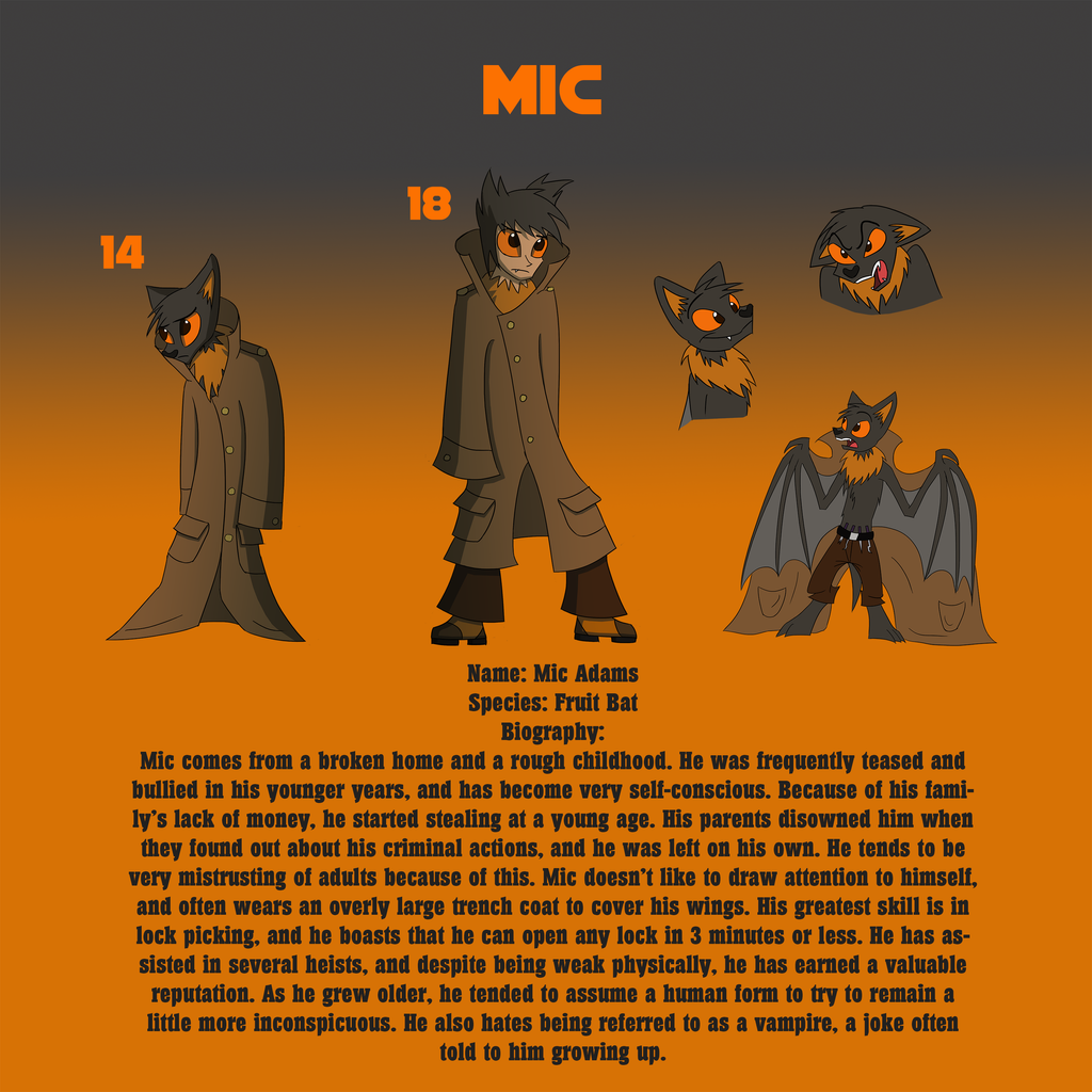 Character Design Competition 2014 : Zp character design contest mic by ritosternbeck on