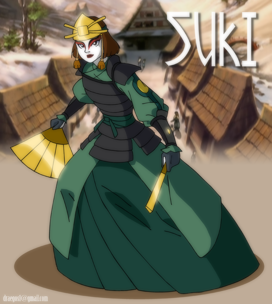 The Last Airbender Avatar Kyoshi: Sweet Suki By Draegos On DeviantArt