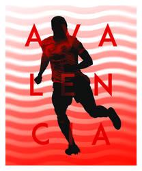 Antonio Valencia - Poster 4/9
