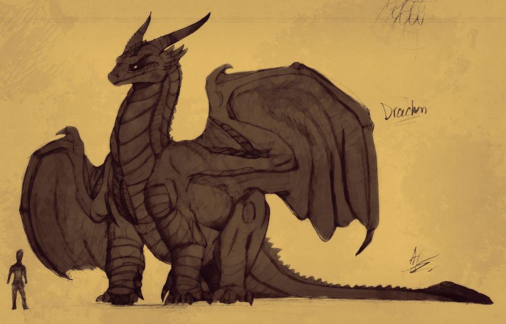 Tarkaria: Dragon Biology PT 1 (Read description) by vcubestudios