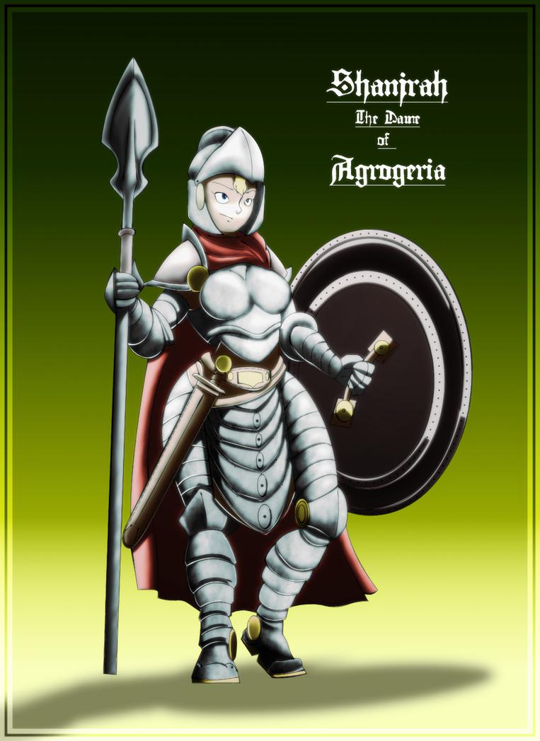Tarkaria: Shanjrah The Dame of Agrogeria by vcubestudios