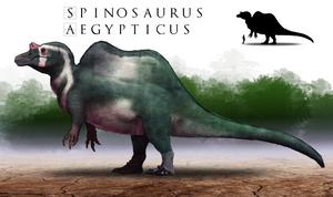 Paleo-Art: Spinosaurus V2.0 by vcubestudios