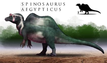 Paleo-Art: Spinosaurus V2.0