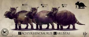 Paleo-Art: Pachirhinosaurus