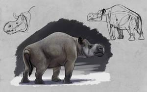 TMHOTW: Rhinopotamus by vcubestudios