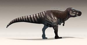 Paleo-art: Tarbosaurus Bataar