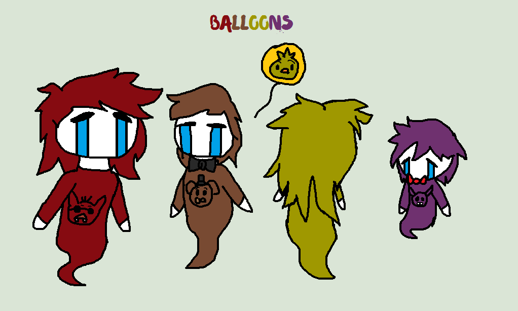 Balloons (FNAF Music Challange 4) by tails-fangirl