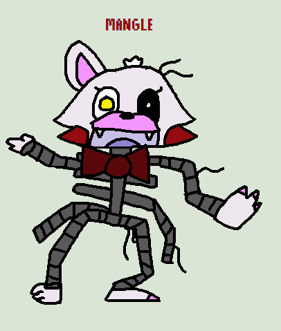 Mangle (FNAF Music Challenge 5) by tails-fangirl