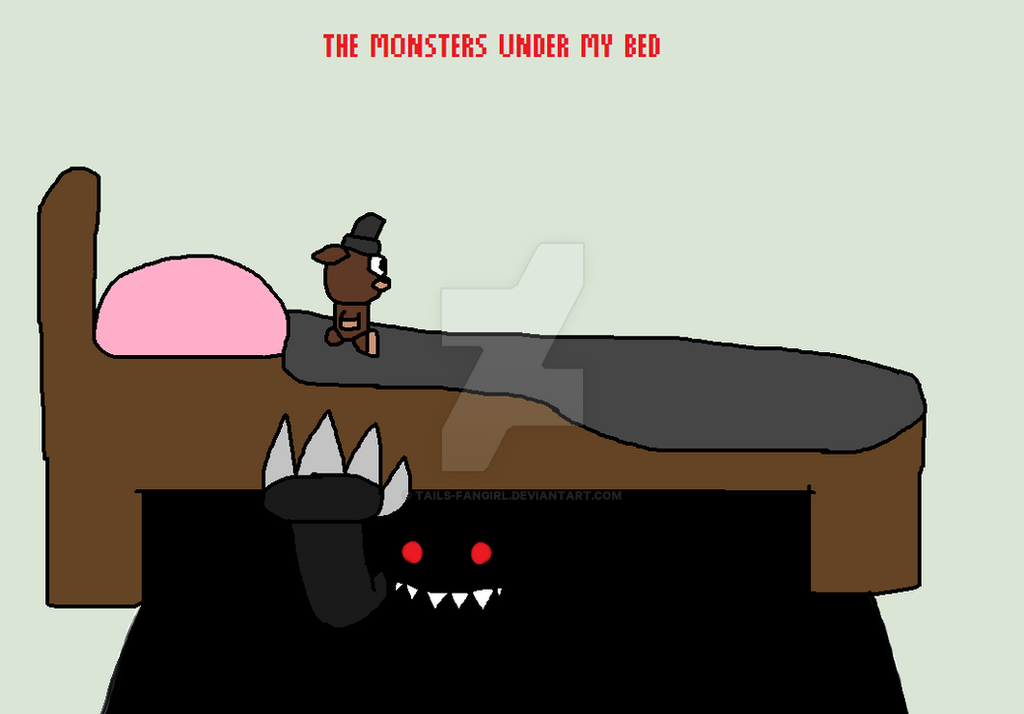 Monsters Under My Bed (FNAF Music Challenge 11) by tails-fangirl