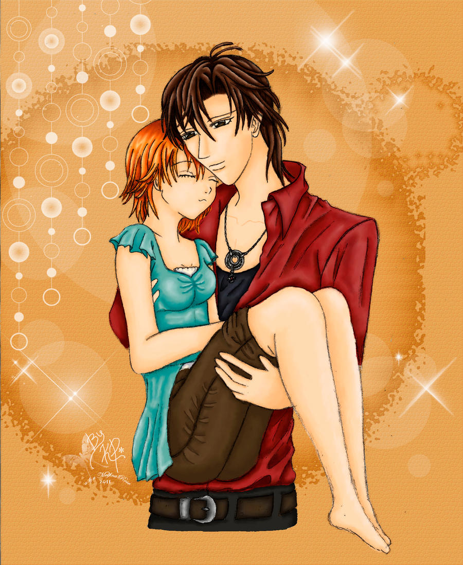::Sweet Embrace::RenxKyoko:: by Melfina-da-littleone