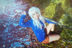 Rise of the Guardians - Cosplay - Fem Jack Frost by JulietAsakura
