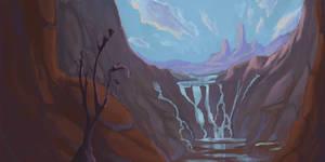 Secret Tide Pool Waterfall