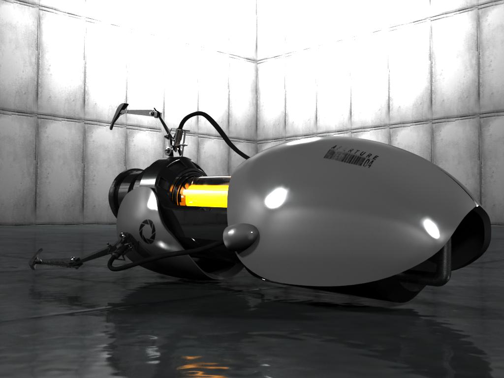 Portal Gun 3D by Handelo