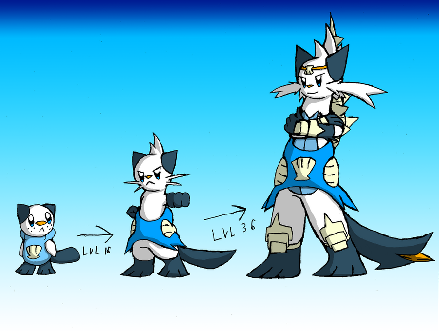 My Mijumaru Evolution Line by SketchSuke on DeviantArt