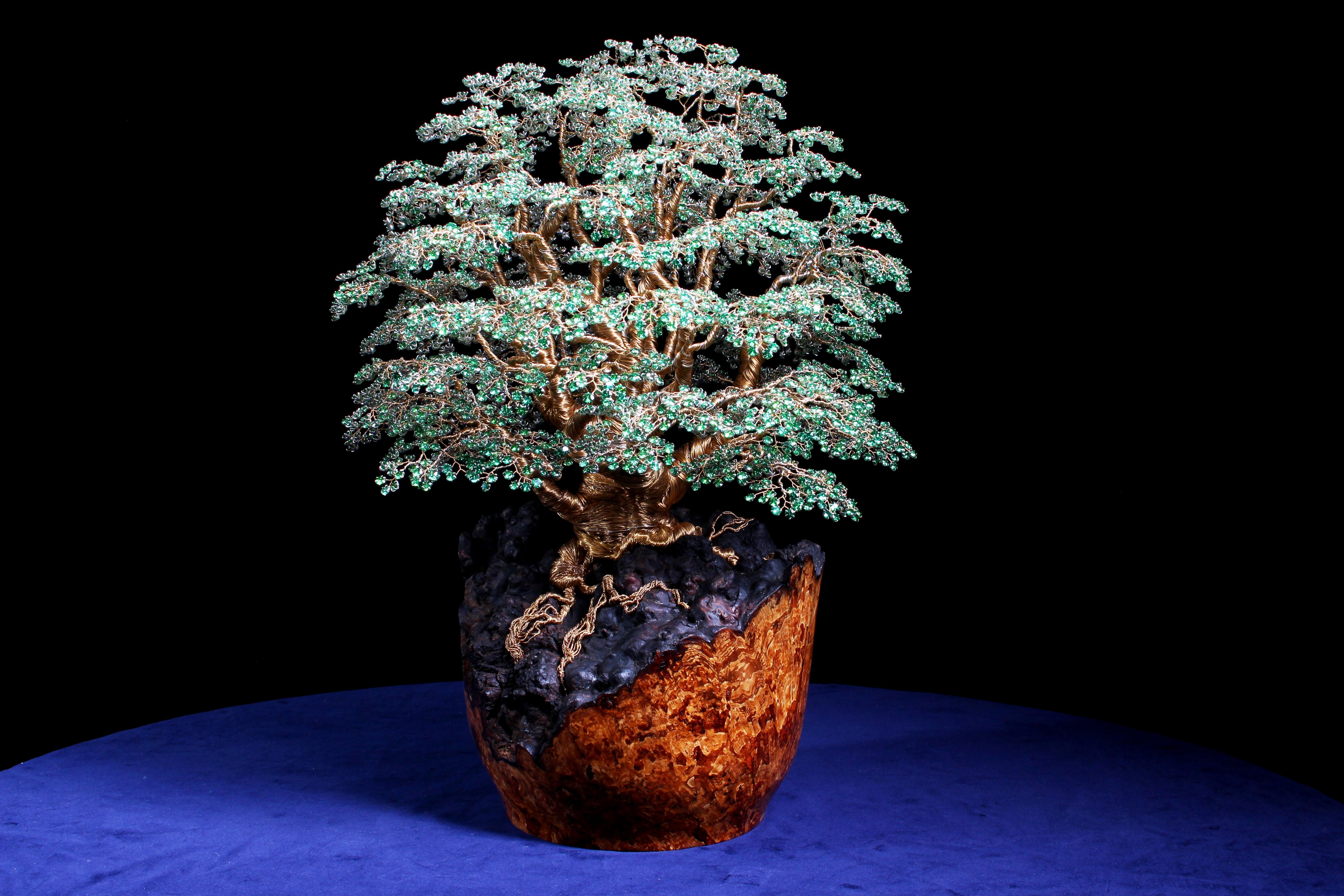 alarik greenland tree wire gemstones by