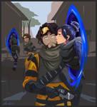 Apex Legends - Portal Clone Kiss