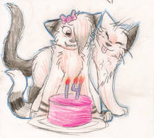 HAPPY BIRTHDAY HARUU :D by ShadowtigerArual