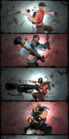 Team Fortress 2 by syn-k