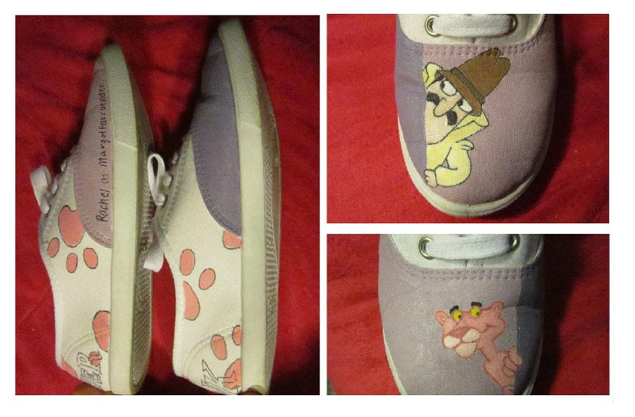 pink panther shoes by k renee shoes on deviantart