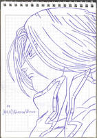 Mirai Trunks (Ball Pen Version) by MiraiWarriorWithin
