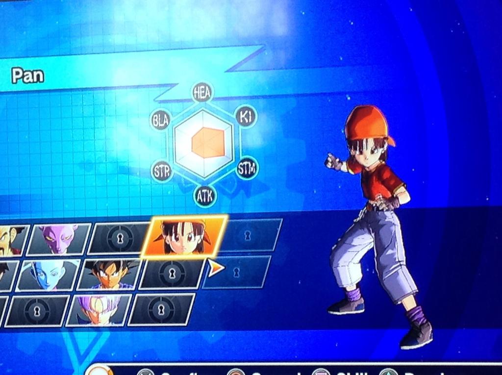 Dragon Ball Xenoverse got GT Pan, Goku, and Trunks by MegaManGamer123