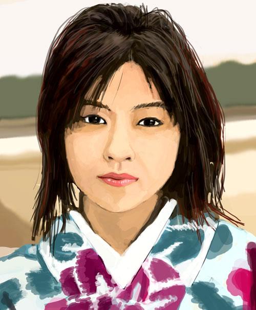 Femme Japonaise by Pymous on DeviantArt