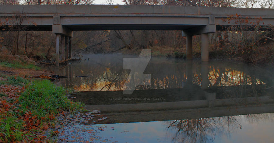 Lost bridge by lostinthenightnature