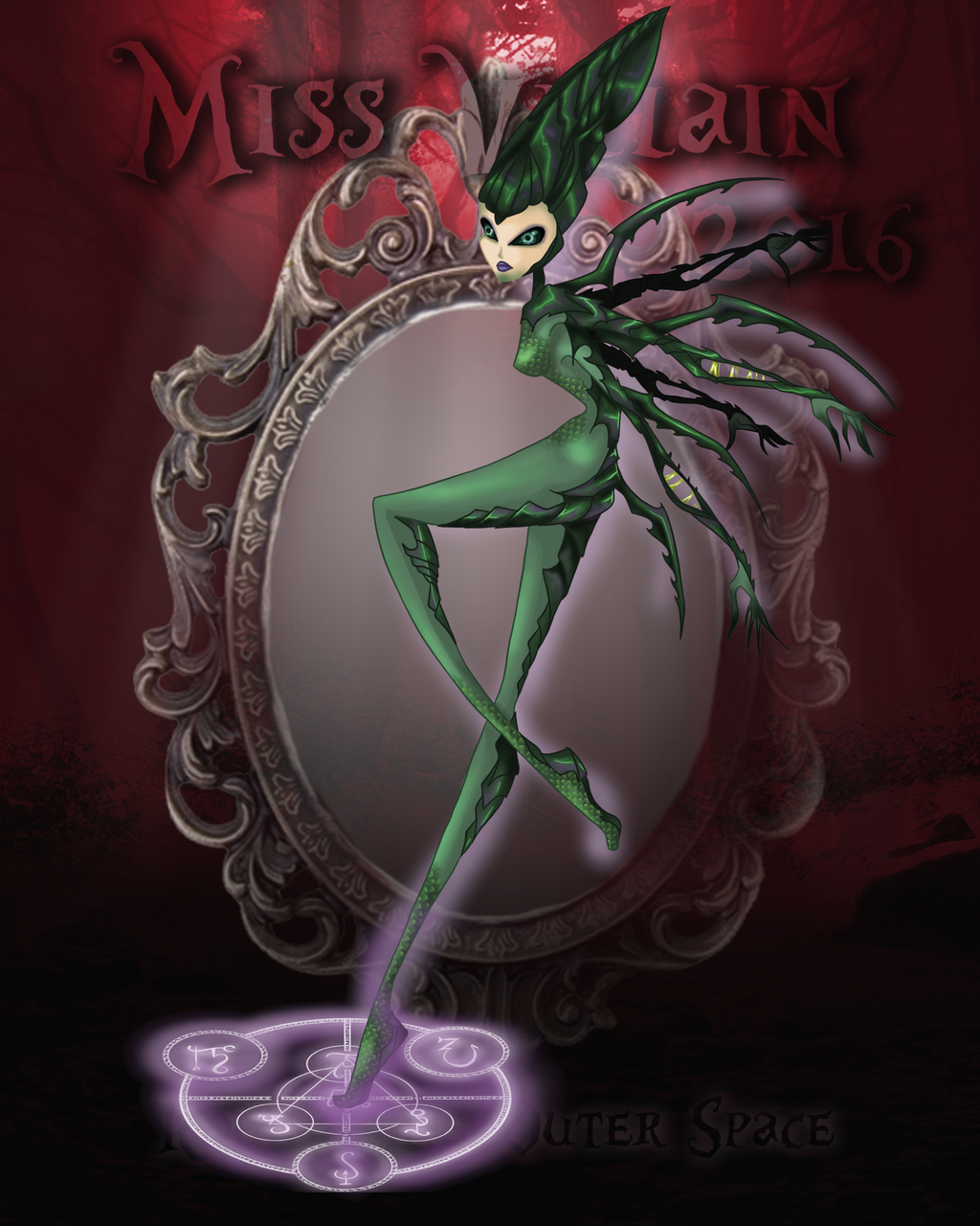Miss villain 2016 round 1 outer space by moryartix on for Outer space 2016