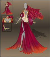 [closed]Auction - Purple dancer by Moryartix