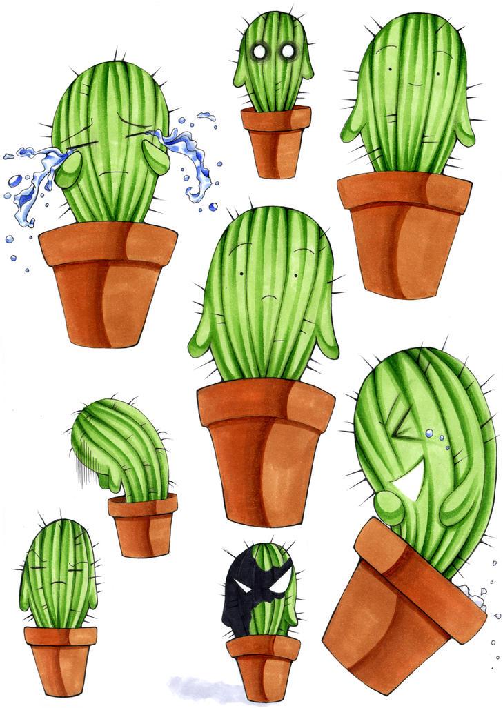 mein kleiner gruener kaktus by victoriaviolet on deviantart. Black Bedroom Furniture Sets. Home Design Ideas
