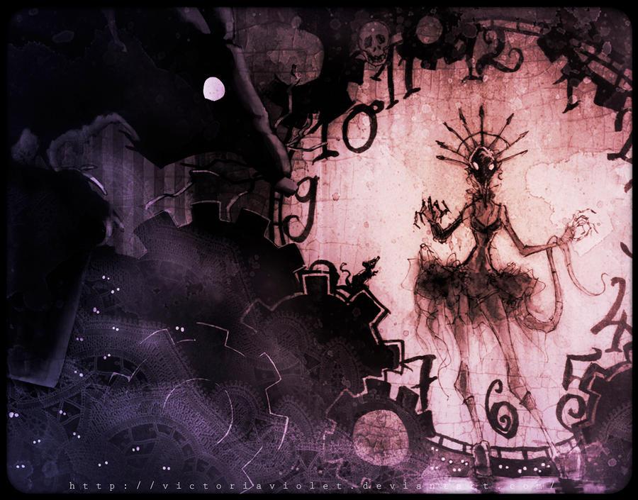 4o'clock-sketch by VictoriaViolet
