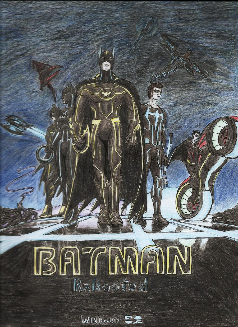 Batman: Gotham Grid by NuvaPrime