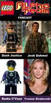 LEGO Alpha Team fancast