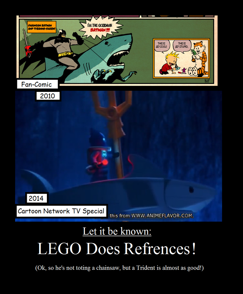 Lego Bat-Reference by NuvaPrime