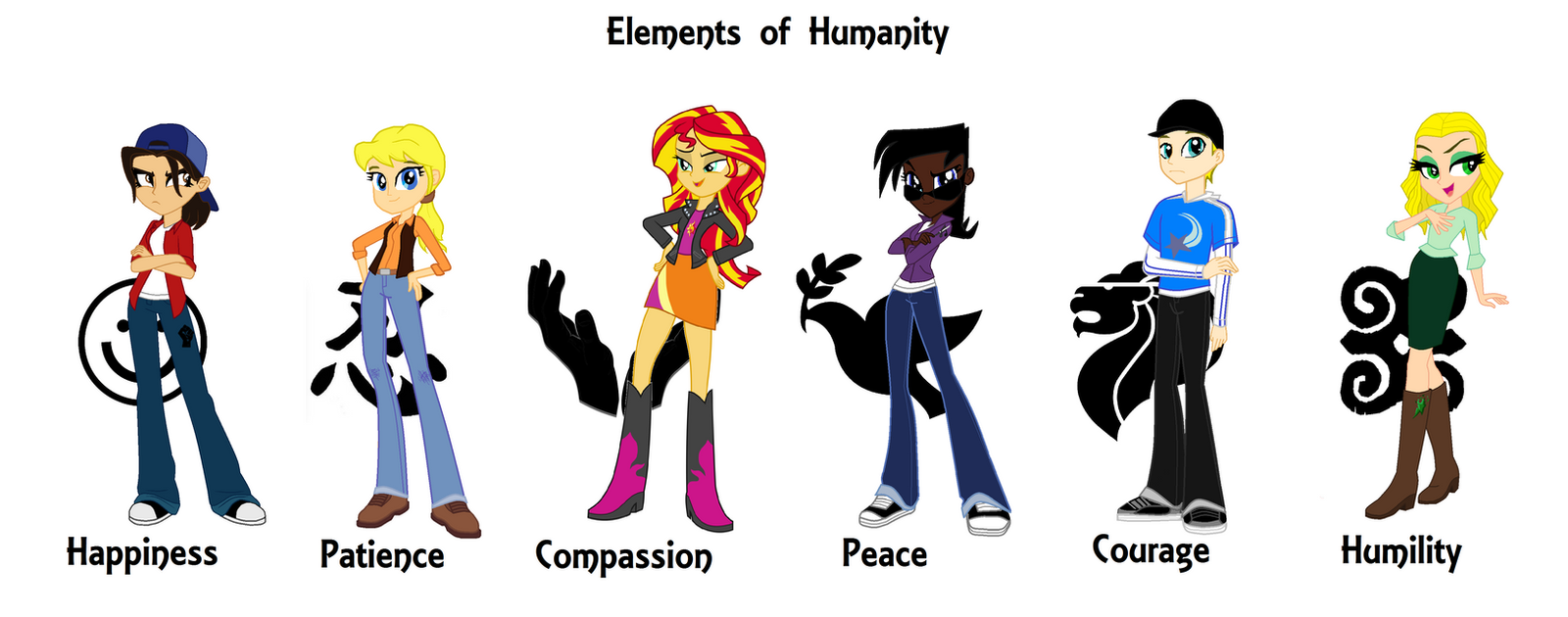 The Human-6: Elements of Humanity by NuvaPrime on DeviantArt