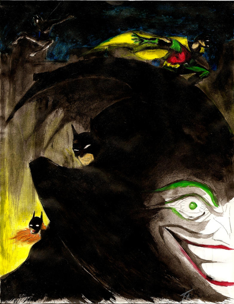 Legend of the Dark Knight by NuvaPrime