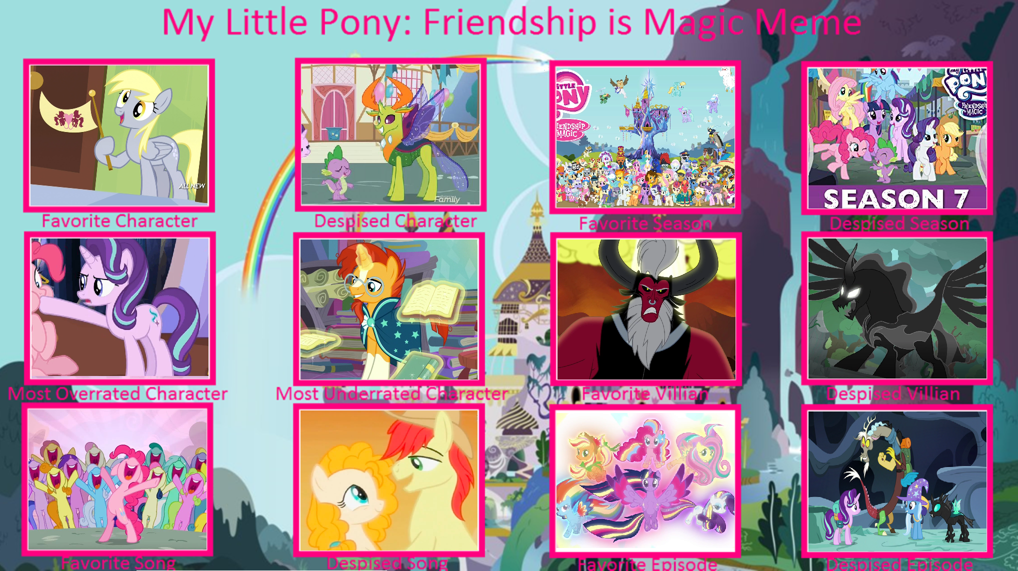 My Little Pony' Controversy Board by NuvaPrime on DeviantArt
