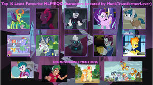 My Least Favorite MLP Characters