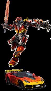 Bayverse Hot Rod - G1 colors