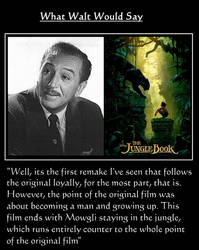 What Walt Would Say#146-TheJungleBook by NuvaPrime