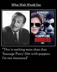 What Walt Would Say#150-TheHappyTimeMurders by NuvaPrime