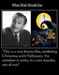 What Walt Would Say#176-NightmareBeforeChristmas